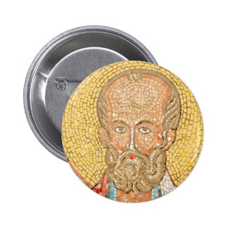 Saint Nicholas 6 Cm Round Badge