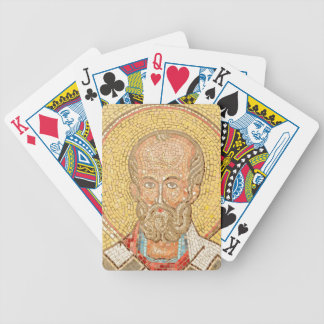Saint Nicholas Bicycle Playing Cards