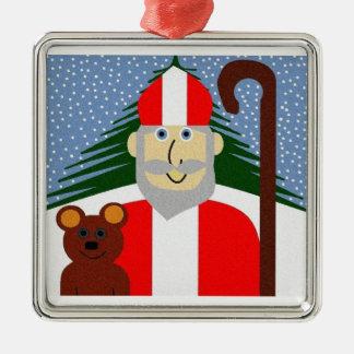 Saint Nicholas Christmas Ornament