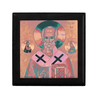 Saint Nicholas Icon Gift Box