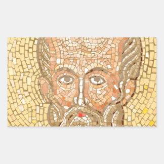 Saint Nicholas Rectangular Sticker