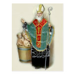 Saint Nicholas Rescuing Children Postcard