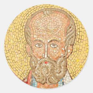 Saint Nicholas Round Sticker