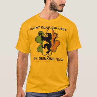 Saint Olaf Irish Drinking Team T-Shirt
