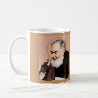 Saint Padre Pio*, Catholic Mystic Coffee Mug