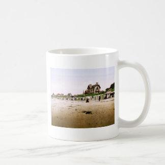 Saint-Pair-sur-Mer Normandy France Basic White Mug