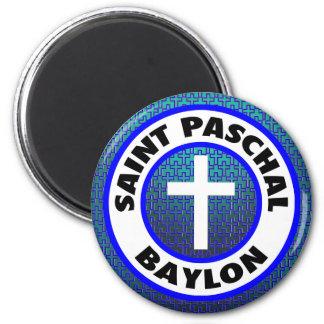 Saint Paschal Baylon 6 Cm Round Magnet