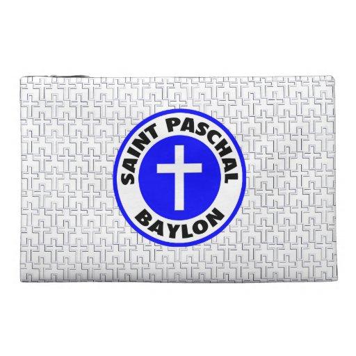 Saint Paschal Baylon Travel Accessory Bags