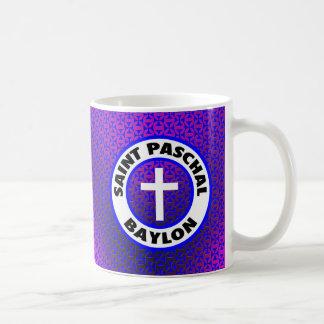 Saint Paschal Baylon Basic White Mug