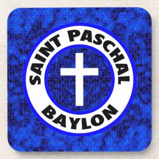 Saint Paschal Baylon Beverage Coaster