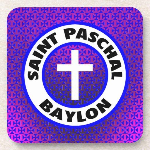 Saint Paschal Baylon Coasters