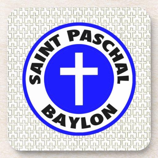 Saint Paschal Baylon Drink Coaster