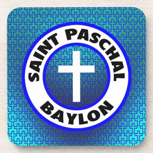 Saint Paschal Baylon Beverage Coasters