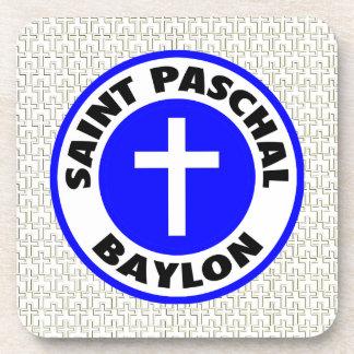 Saint Paschal Baylon Drink Coasters