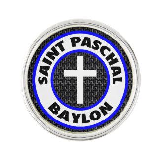 Saint Paschal Baylon Lapel Pin