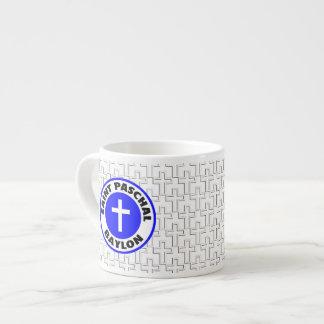 Saint Paschal Baylon 6 Oz Ceramic Espresso Cup