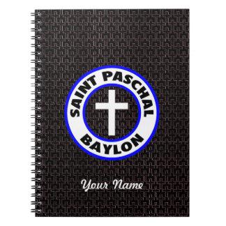 Saint Paschal Baylon Spiral Note Book