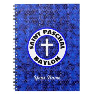 Saint Paschal Baylon Notebook