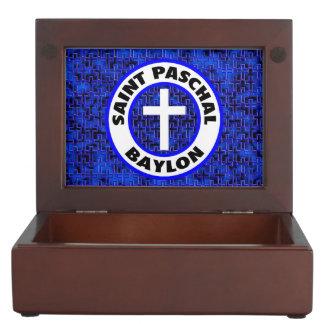 Saint Paschal Baylon Keepsake Boxes