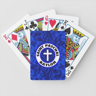 Saint Paschal Baylon Card Deck