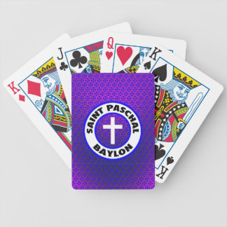 Saint Paschal Baylon Poker Deck
