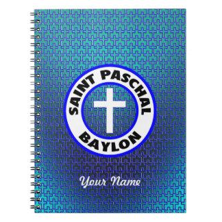 Saint Paschal Baylon Spiral Notebooks
