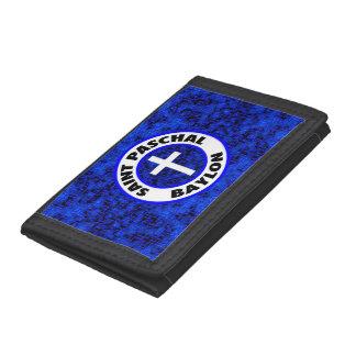 Saint Paschal Baylon Tri-fold Wallet