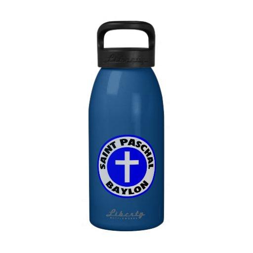 Saint Paschal Baylon Drinking Bottles