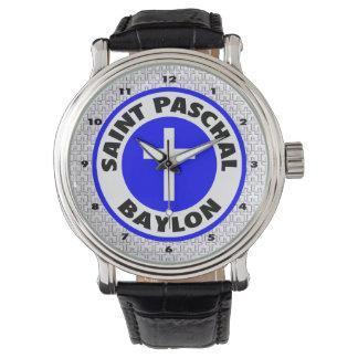 Saint Paschal Baylon Wrist Watch