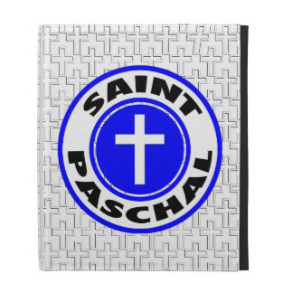 Saint Paschal iPad Folio Cover