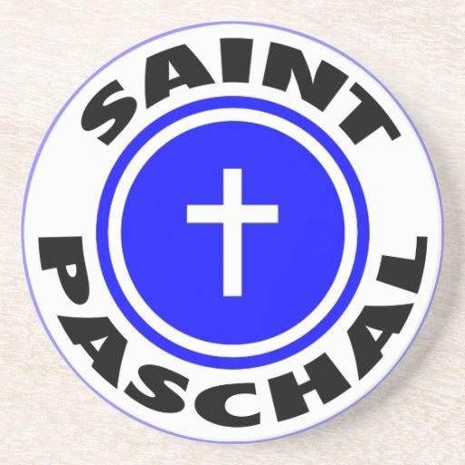 Saint Paschal Drink Coasters