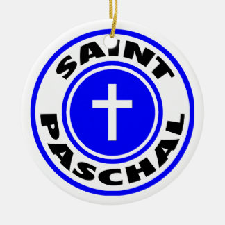 Saint Paschal Christmas Tree Ornaments