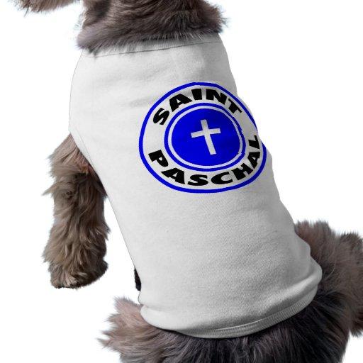 Saint Paschal Doggie T Shirt
