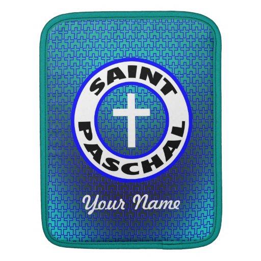 Saint Paschal iPad Sleeve