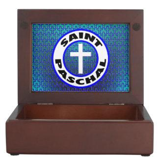 Saint Paschal Keepsake Boxes