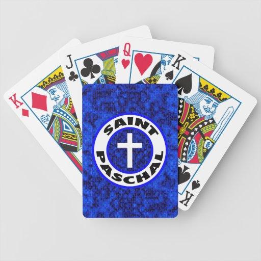 Saint Paschal Playing Cards