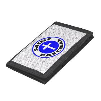 Saint Paschal Tri-fold Wallet