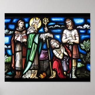 Saint Patrick and His Followers Print