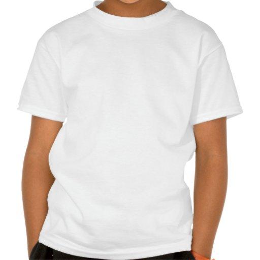 Saint Patrick Day Leprechaun Spying By A Shamrock T Shirts