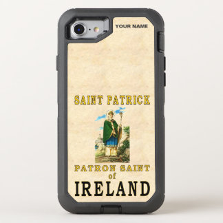 SAINT PATRICK  (Patron Saint of Ireland) OtterBox Defender iPhone 7 Case