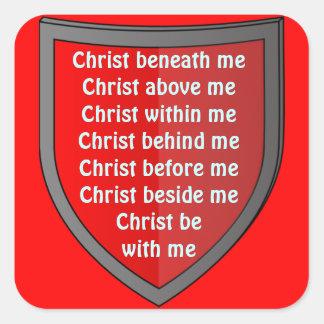 Saint Patrick s breastplate prayer stickers
