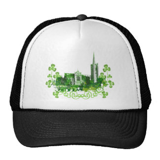 Saint Patrick s Cathedral in Dublin Trucker Hats