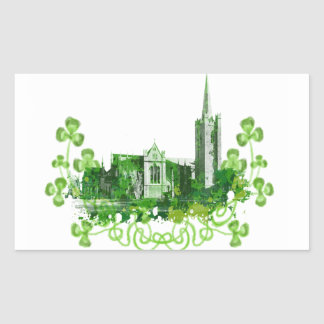 Saint Patrick s Cathedral in Dublin Sticker