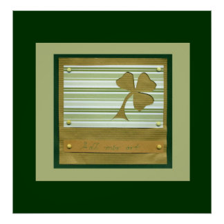 Saint Patrick s Day collage series 1 Poster