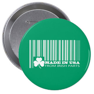Saint Patrick s Day Fun Buttons Pinback Button