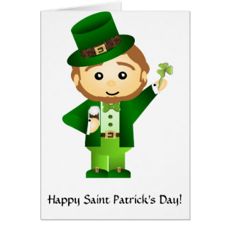 Saint Patrick' S Day Greeting Card