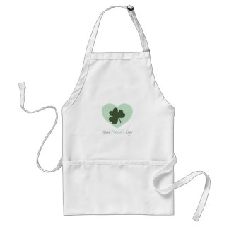 Saint Patrick s Day Heart Aprons