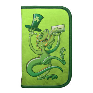 Saint Patrick s Day Iguana Folio Planners