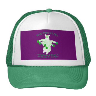 Saint Patrick s Day Leprechauns and Fester Equals Trucker Hat
