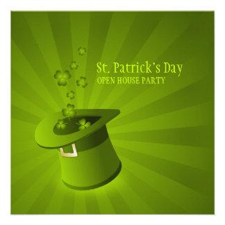 Saint Patrick s Day Party invitation